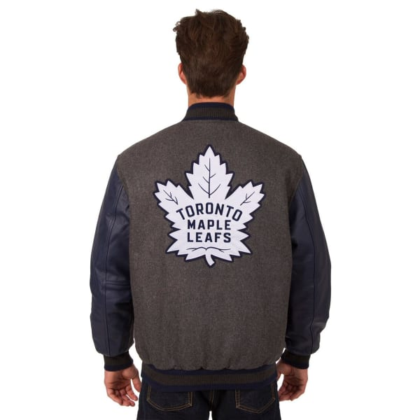 new arrival 75aee e666f TORONTO MAPLE LEAFS Men's Wool and Leather Reversible Logo(2) Jacket