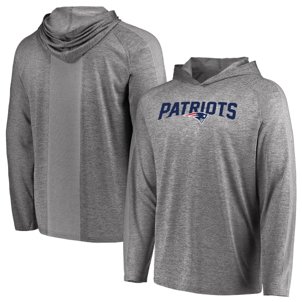 new product 02757 6a329 NEW ENGLAND PATRIOTS Men's Fan Flow Pullover Hoodie - Bob's ...