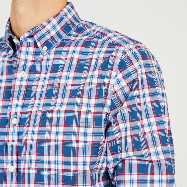 Nautica Mens Classic Fit Biking Plaid Short Sleeve Shirt