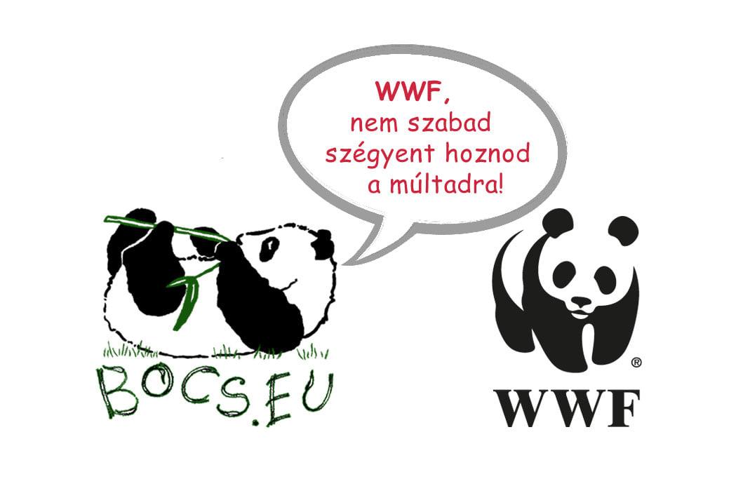 A WWF vakon hibáztatja a magyarokat?