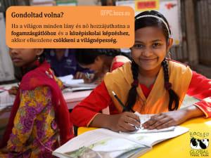 Az oktatás és a fogamzásgátlás együtt megállítaná a népességrobbanást   BOCS.EU