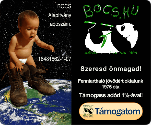 BOCS Alapítvány- Támogass adód 1%-ával! | Adószám: 18481862-1-07
