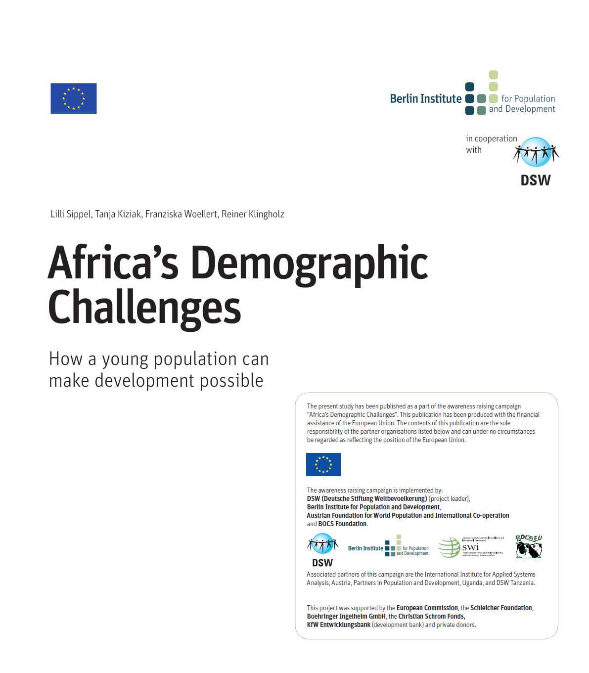 Africa's Demographic Challenges | BOCS foundation