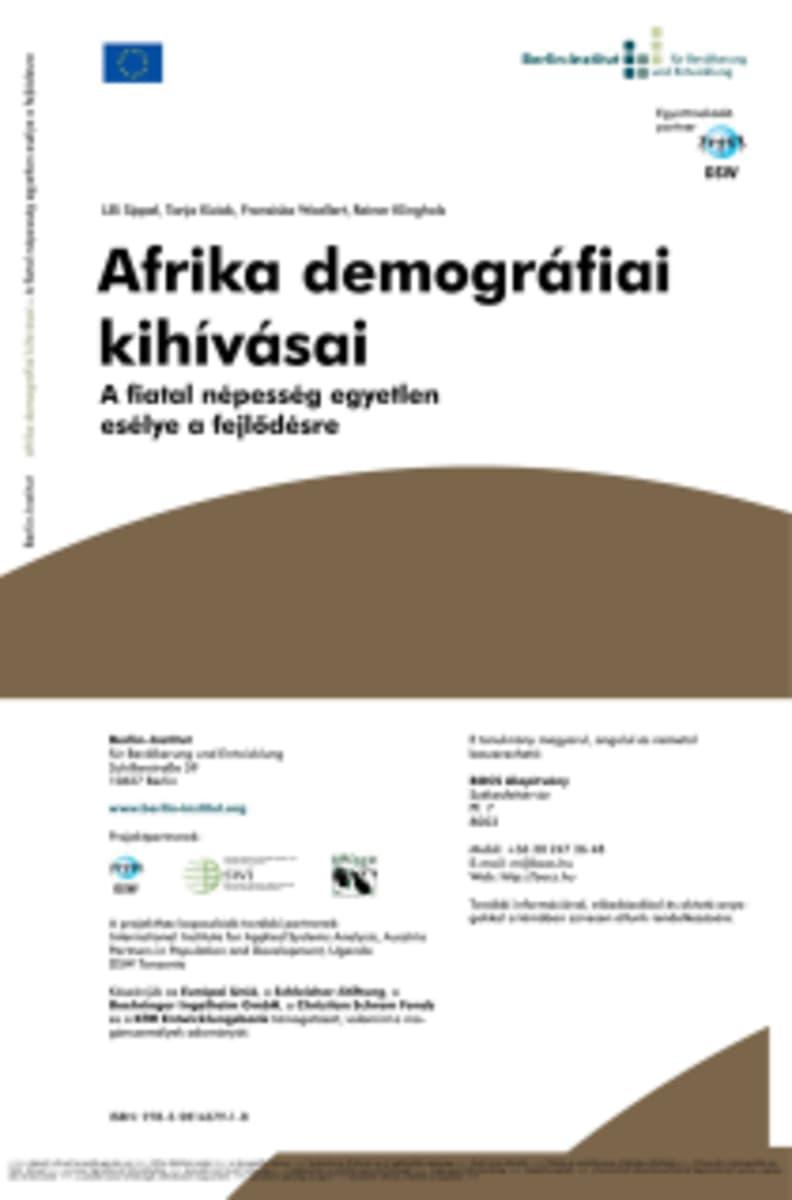 Afrika demográfiai kihívásai ingyenesen letölthető   BOCS Civilizációtervezés Alapítvány