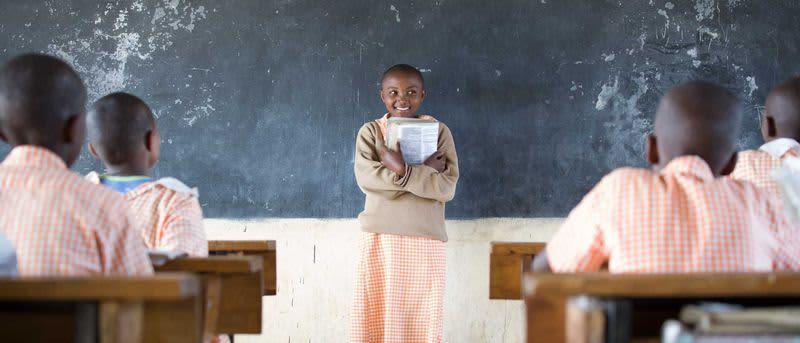 Educating girls: 60 gigatons of potential. | (Drawdown)