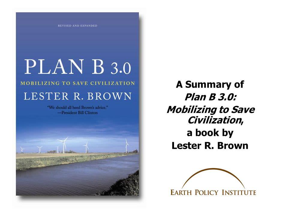 A népességszám stabilizálása   PLAN B 3.0 - Lester R. Brown