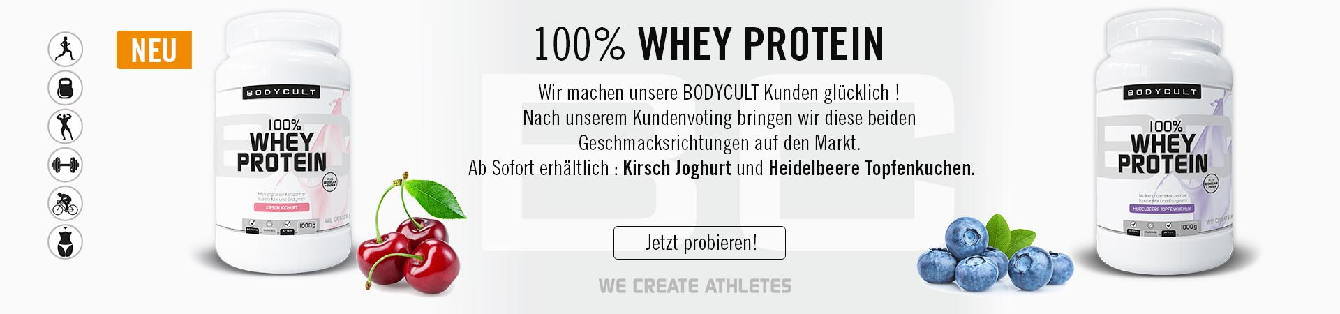 BODYCULT 100% Whey ...