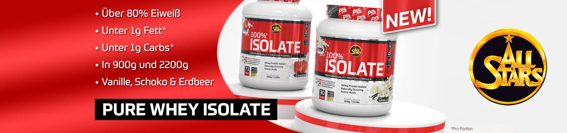 Allstars 100% Isolate