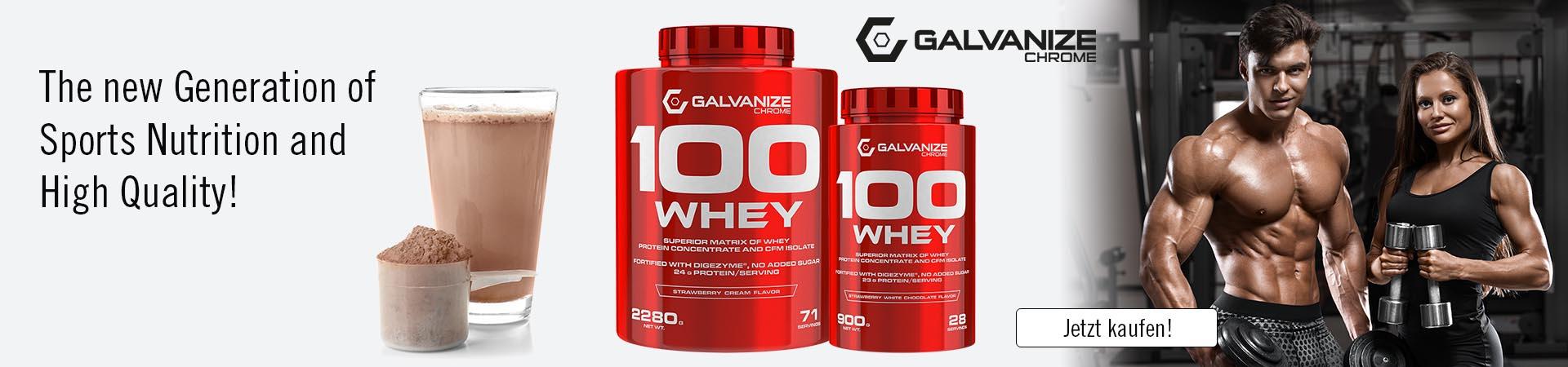 Galvanize 100 Whey
