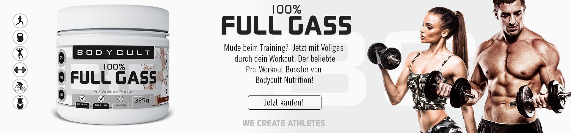 100% Full Gass