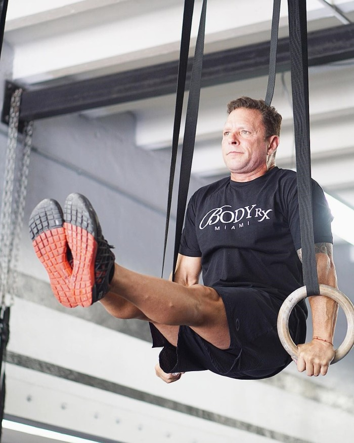 TRT Patient Middle Aged Man at Body RX Miami