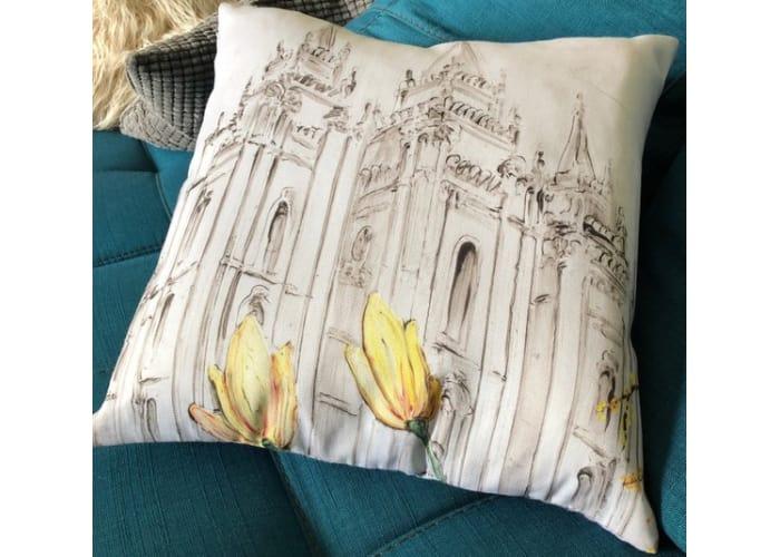 Salt Lake City LDS Temple Pillow Sham