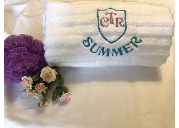 Embroidered CTR Towel