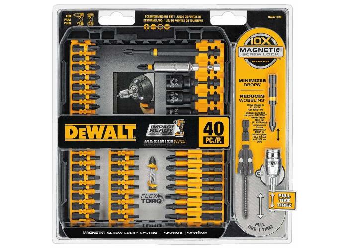 DeWalt 40-pc Impact Ready FlexTorq Screw Driving Set