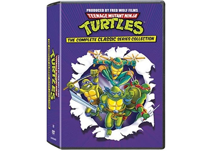 TMNT Classic Complete Collection DVD