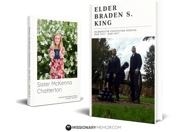 Missionary Memoir Hardbound Books
