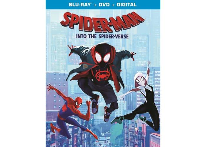 Spider-Man: Into the Spider-Verse (DVD + Digital HD)