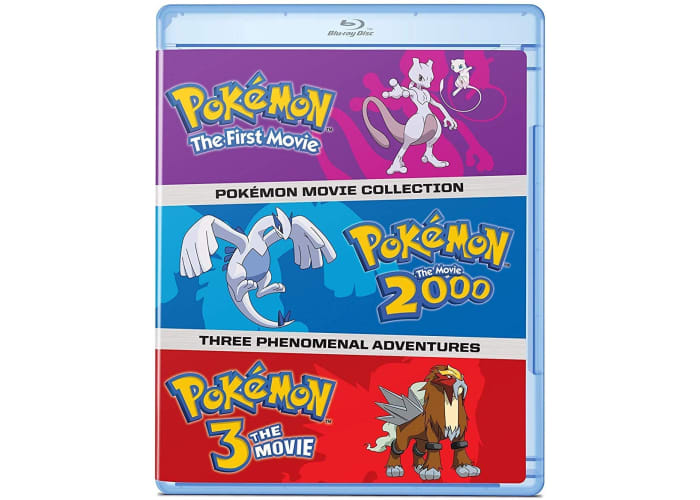 Pokemon Movies 1-3 Collection (Blu-ray or DVD)