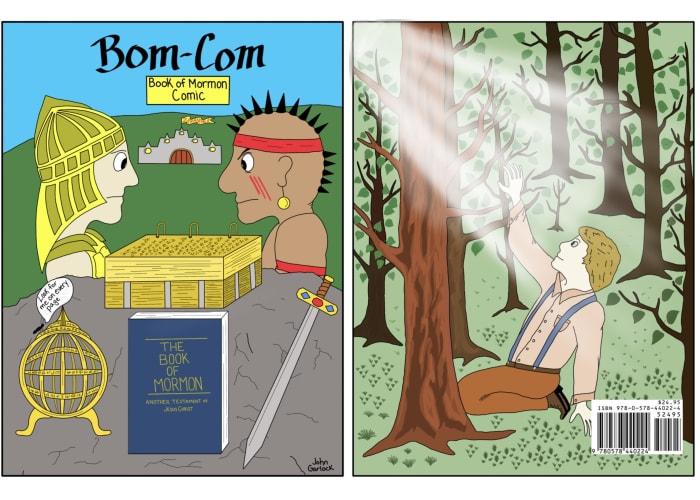 BOM-COM Book of Mormon Comic Book