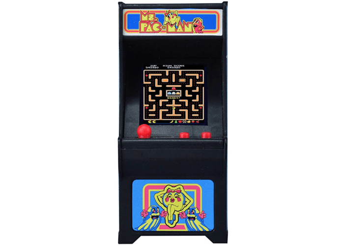 Ms. Pac-Man Miniature Arcade Game