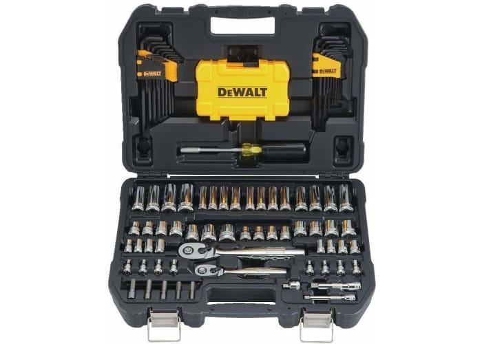 108-pc DEWALT Mechanics Tools Kit and Socket Set