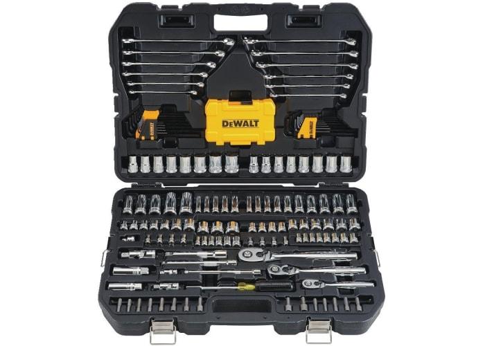 168-pc DeWalt Mechanics Tools Kit and Socket Set