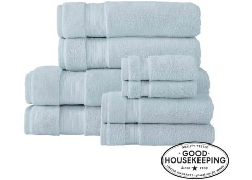 Home Decorators Collection Egyptian Cotton 8-Piece Bath Sheet Towel Set