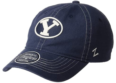 BYU Zephyr Men's Solo Washed Cotton Relaxed Hat