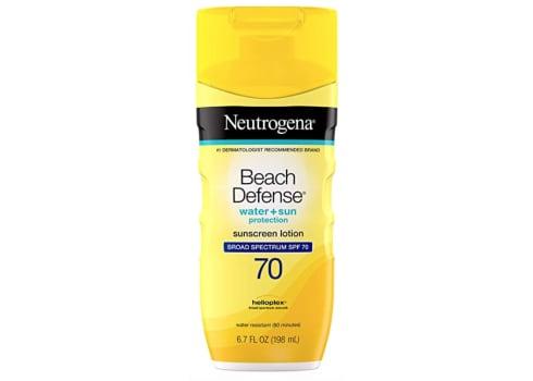 Neutrogena SPF 70 Water Resistant Sunscreen