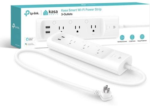 Kasa Smart Plug Power Strip Surge Protector, 3-Outlets