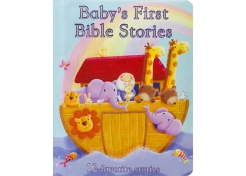 Baby's First Bible Stories Board Book