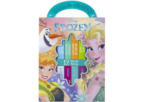 Disney Frozen My First Library Board Book Block, 12-Book Set