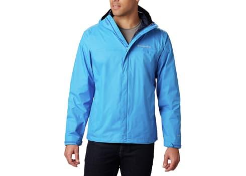 Columbia Men's Watertight II Waterproof Rain Jacket, Blue