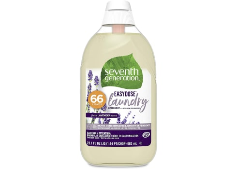 23-oz Seventh Generation Laundry Detergent, Ultra Concentrated EasyDose, Fresh Lavender