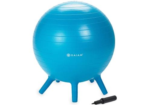 Gaiam Kids Stay-N-Play Children's Balance Ball Chair