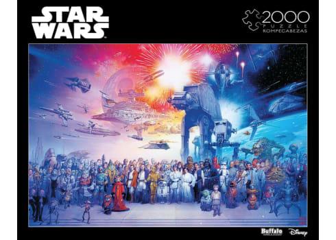 Star Wars - 2000 Piece Jigsaw Puzzle
