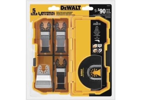 DEWALT Oscillating Tool Blades Kit, 5-Piece