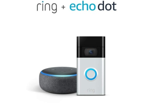 Ring Doorbell with Echo Dot