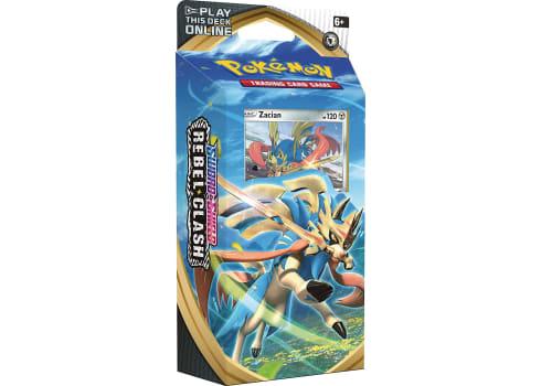 Pokemon TCG: Sword & Shield Rebel Clash Theme Deck Featuring Zacian
