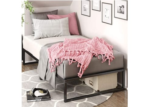 Zinus Lorelei 12 Inch Metal Platform Twin Bed Frame