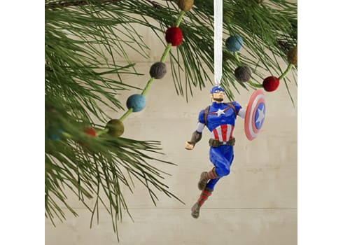 Hallmark Captain America Christmas Ornament