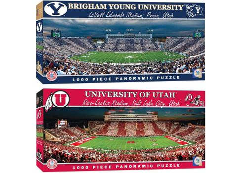 MasterPieces NCAA BYU or Utah Utes Football Stadium Panoramic Jigsaw Puzzle