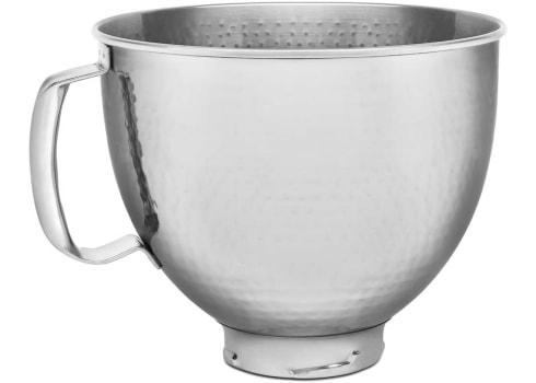 5-qt KitchenAid KSM5SSBHM Hammered Stainless Steel Stand Mixer Bowl