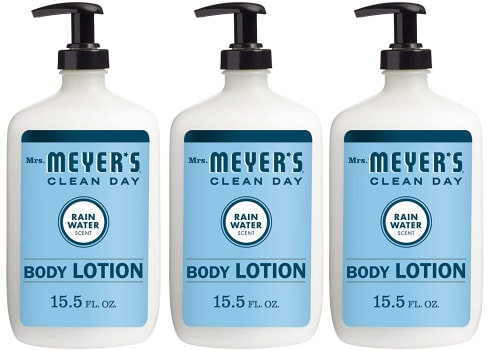 3-pk Mrs. Meyer's Clean Day Body Lotion, Rainwater Scent, 15.5 oz