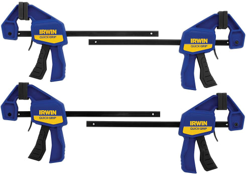 4-pk IRWIN Quick-Grip Clamps