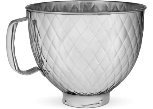 5-qt KitchenAid Quilted Stainless Steel Mixer Bowl