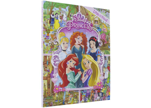Disney Princess Look and Find Activity Book