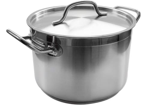 20-qt Stainless Steel Update International Induction Stock Pot