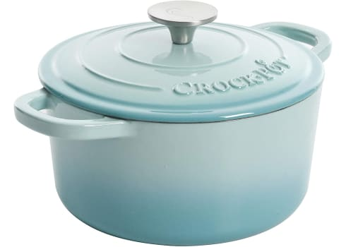 3-qt Crock-Pot Artisan Round Enameled Cast Iron Dutch Oven