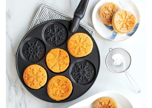 Nordic Ware Disney Frozen Snowflake Pancake Pan